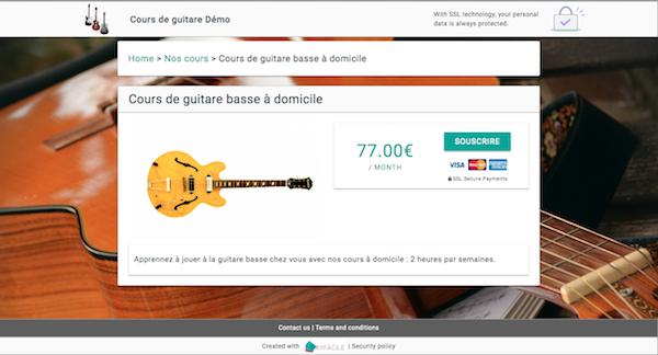 Payfacile screenshot 1