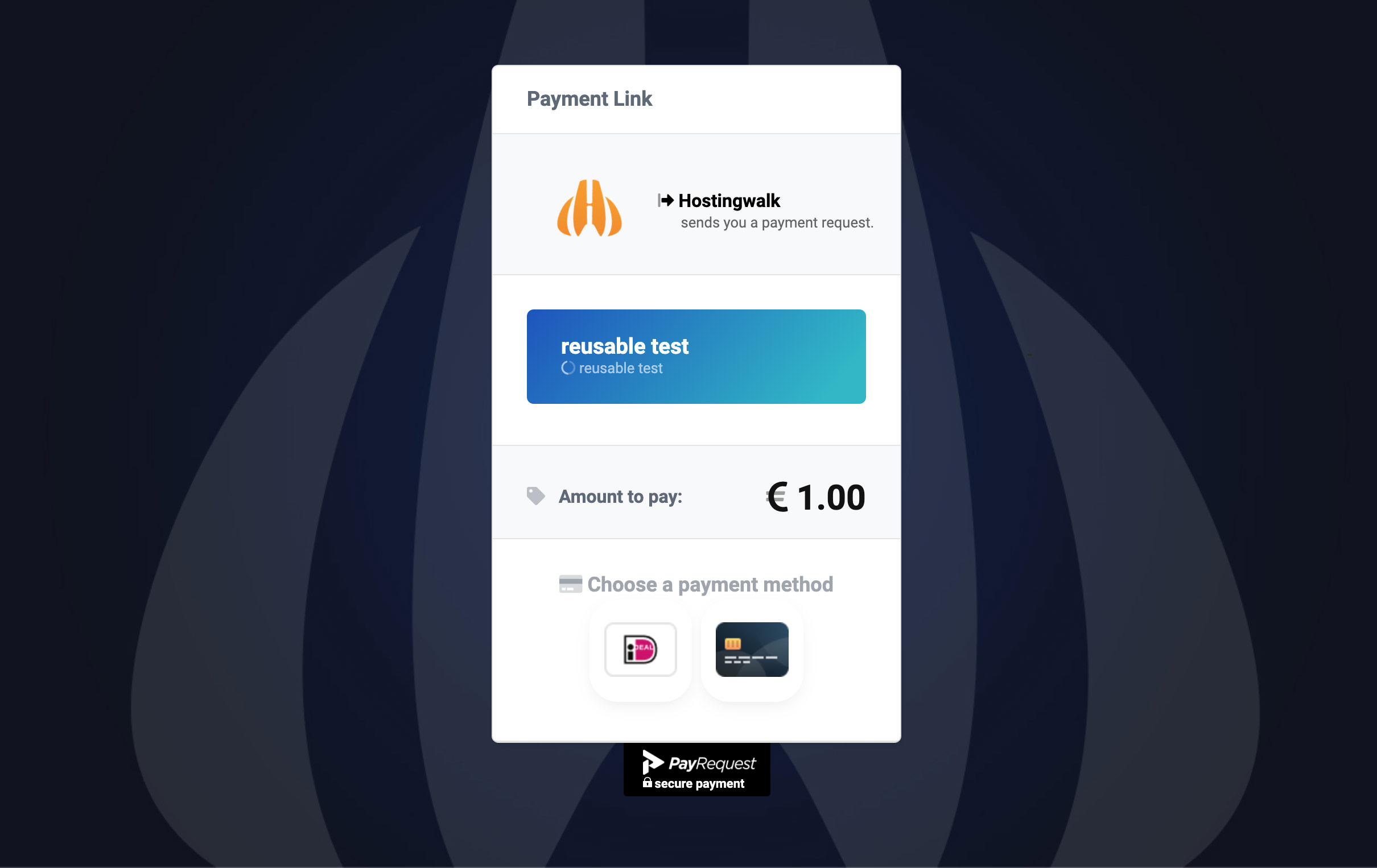 PayRequest screenshot 2