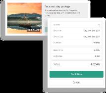 Bookinglayer screenshot