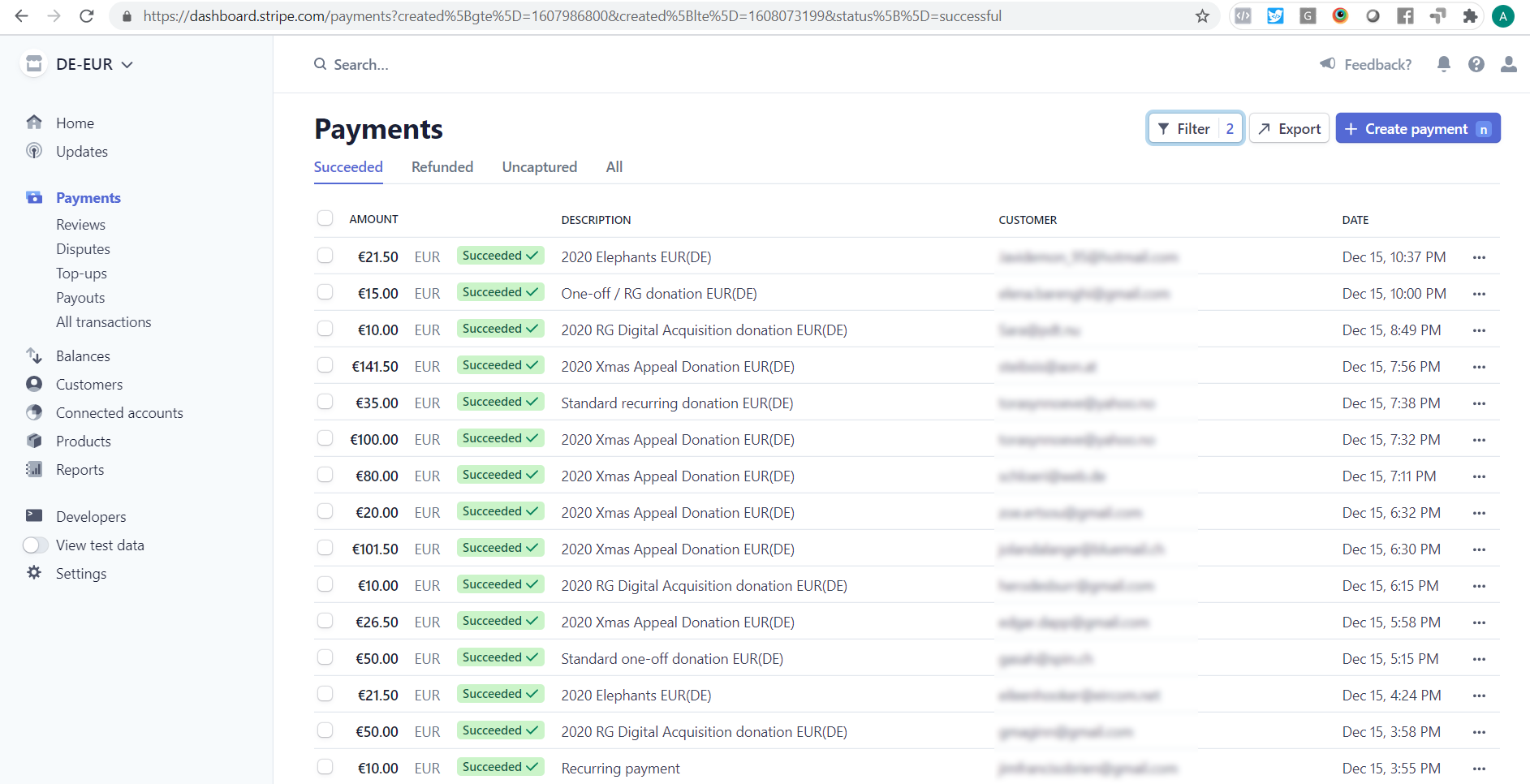 Engaging Networks screenshot 2