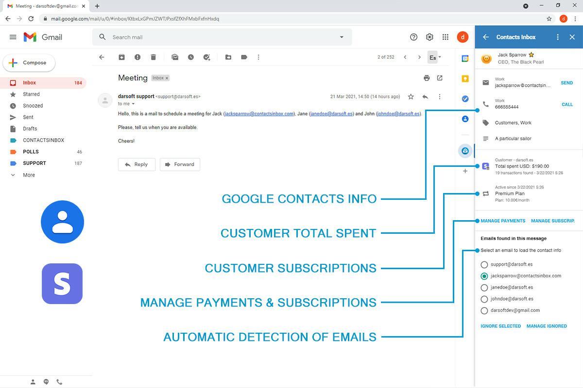 Contacts Inbox screenshot 0