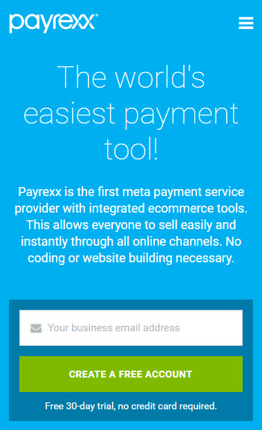 PAYREXX screenshot 0